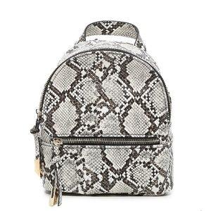 NWT Steve Madden Snake Print Backpack - Mini